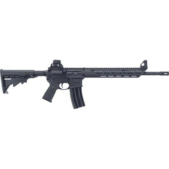 Mossberg 65074 MMR Carbine Semi-Automatic 223 Rem|5.56 NATO 16.2 30+1 6-Position Black Stk Black in.