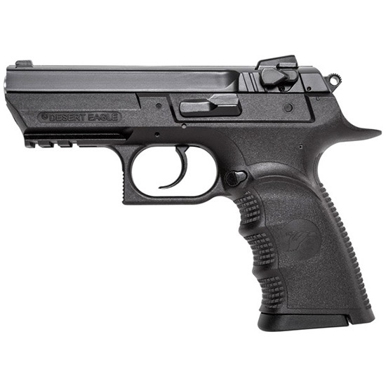 Magnum Research BE94003RSL Baby Desert Eagle Single Double 40 Smith & Wesson (S&W) 3.8 10+1  Grip Blk Carbon Steel in.