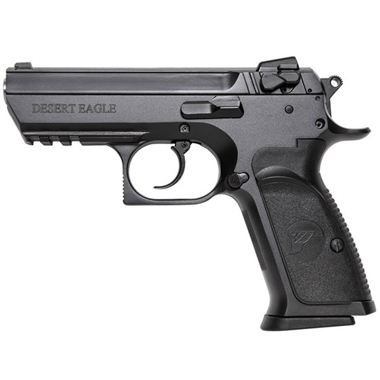 Magnum Research BE94133R Baby Desert Eagle III 40 Smith & Wesson (S&W) Double 4.4 12+1 Black Carbon Steel Slide in.