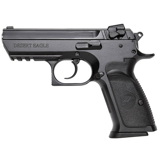 Magnum Research BE94133RS Baby Desert Eagle III 40 Smith & Wesson (S&W) Single Double 3.8 12+1 Black Carbon Steel Slide in.