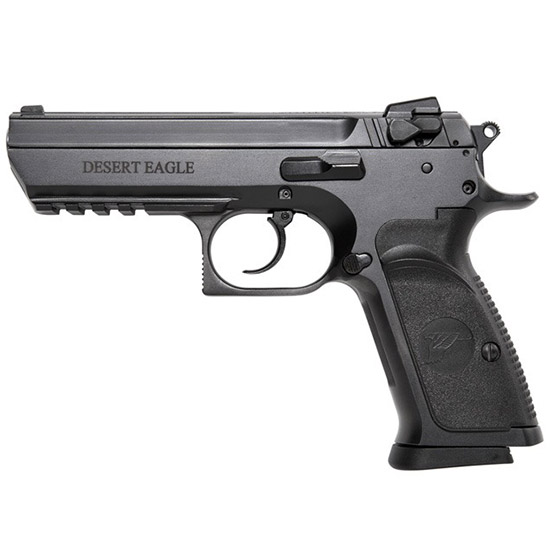 Magnum Research BE99003R Baby Desert Eagle Single|Double 9mm 4.4 10+1 Blk Carbon Steel in.