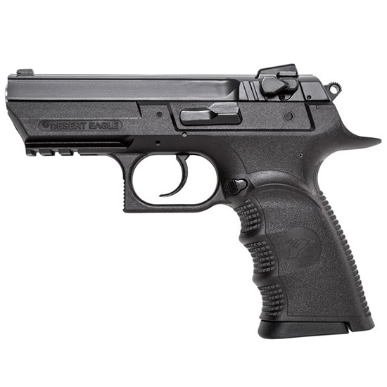Magnum Research BE99003RSL Baby Desert Eagle Single|Double 9mm 3.8 10+1 Blk Carbon Steel in.