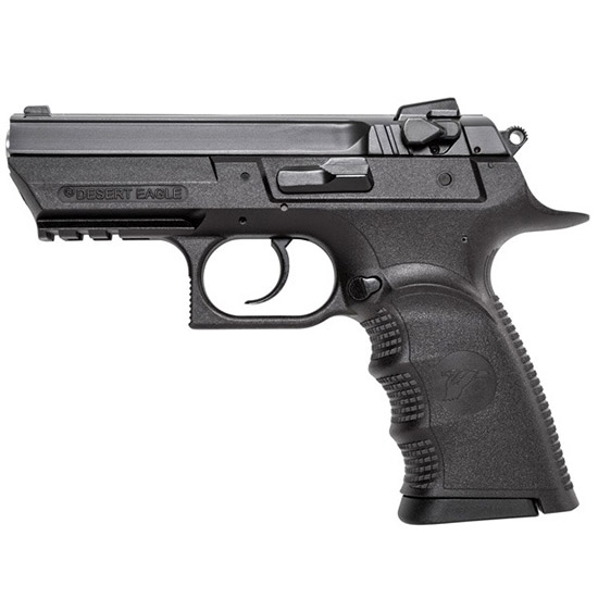 Magnum Research BE99153RSL Baby Desert Eagle Single Double 9mm 3.8 16+1 Blk Carbon Steel in.