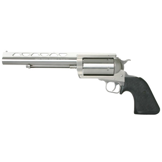 Magnum Research BFR45LC410 BFR Long Cylinder SS 45LC 410 Single 45 Colt (LC) 410 7.5 5 Black Rubber Stainless Steel in.