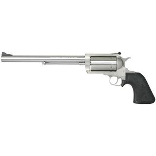 Magnum Research BFR460SW10 BFR Long Cylinder SS Single 460 Smith & Wesson Magnum 10 5 Black Rubber Stainless in.