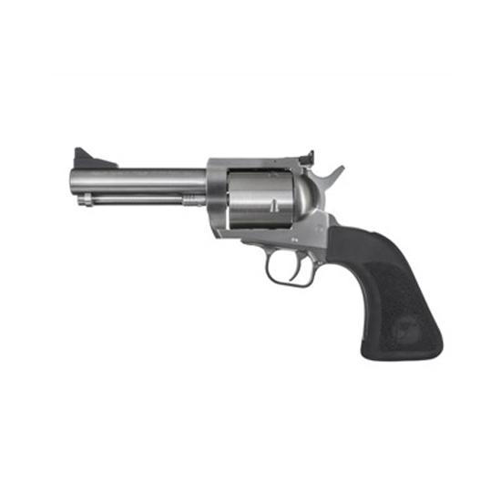 Magnum Research BFR500JRH5 BFR Short Cylinder SS Revolver 500 JRH 5.5 5 Rd Black Rubber Grip Brushed Stainless Steel in.