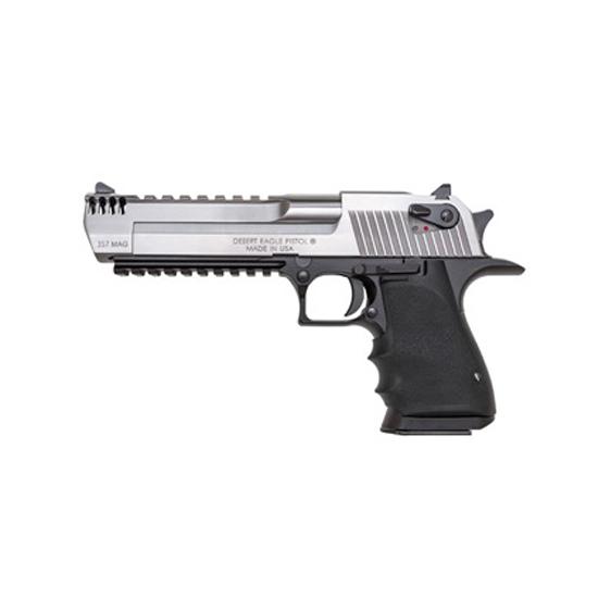 Magnum Research DE357ASIMB Desert Eagle Single 357 Magnum 6 IMB 9+1 Black Polymer Grip Black Frame Stainless Steel in.
