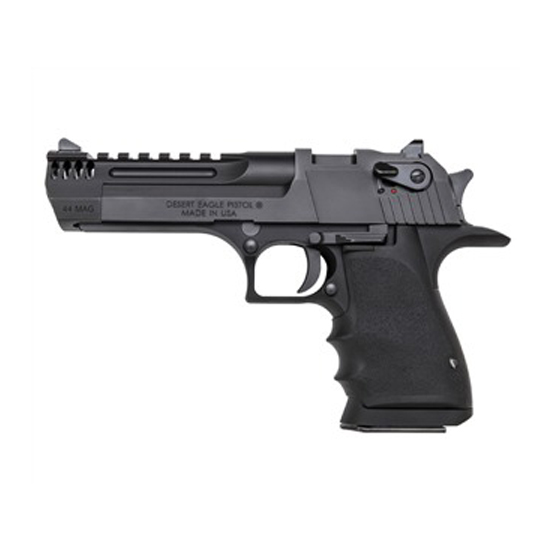 Magnum Research DE445IMB Desert Eagle Single 44 Remington Magnum 5 8+1 Black Polymer Grip Black in.