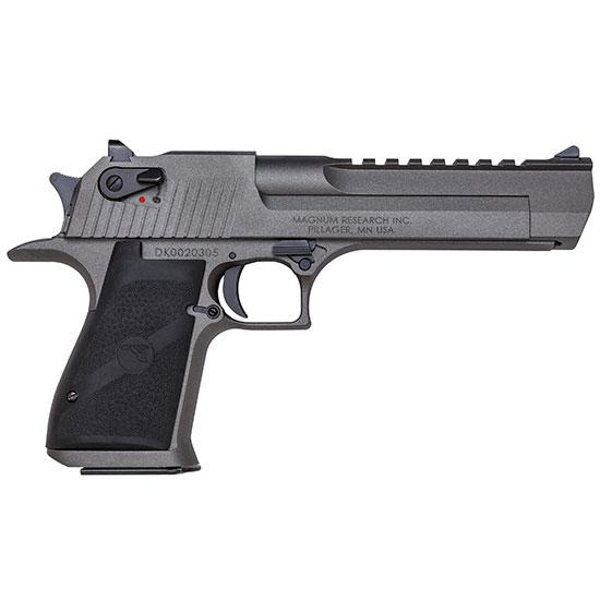 Magnum Research SE44TU Desert Eagle Mark XIX Single 44 Remington Magnum 6 8+1 FS Black Synthetic Grip Tungsten Gray Cerakote in.