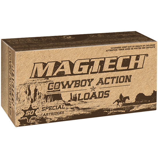 Magtech 44B Cowboy Action 44 Special 240 GR Lead Flat Nose 50 Bx| 20 Cs