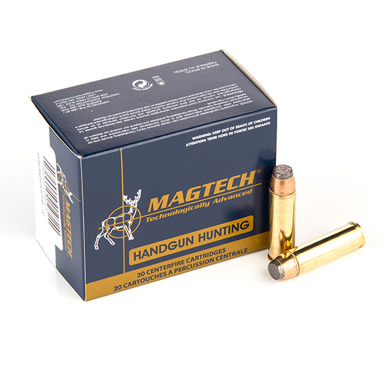 Magtech 500A Sport Shooting Pistol & Revolver Cartridges 500 Smith & Wesson Magnum   400 GR   Semi-Jacketed Soft Point   20 Bx|  25 Cs
