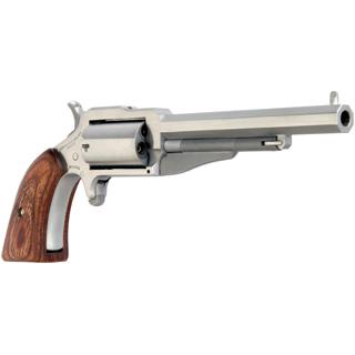 NAA 18604C 1860 The Earl 4 with 22 LR Cylinder Single 22 Winchester Magnum Rimfire (WMR) 4 in.  5 Wood Black in.