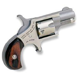 NAA 22S 22 Short Rosewood Grip Single 22 Short 1.1 5 Rosewood Stainless in.