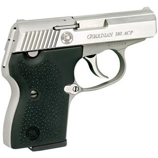 NAA GUARDIAN 380 Guardian 380 ACP 2.5 6+1 Blk Rubber Grip SS in.