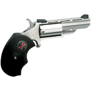 NAA BWC Magnum Black Widow Single 22 Winchester Magnum Rimfire (WMR) 2 5 Black Rubber Stainless in.