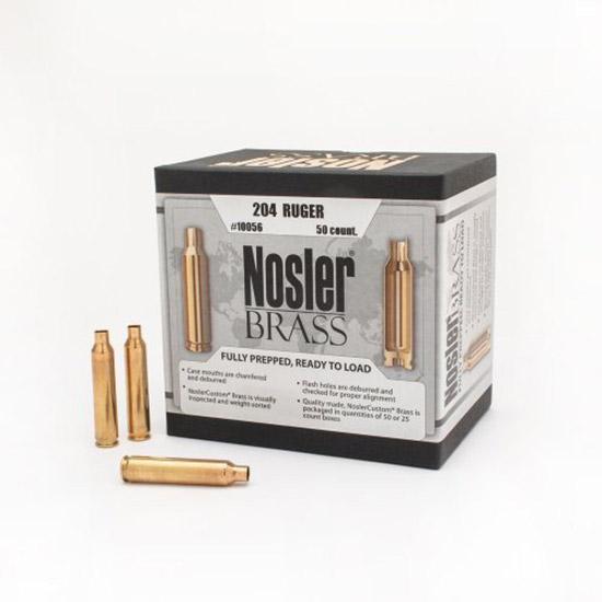 Nosler 10056 Brass Nosler 204 Ruger