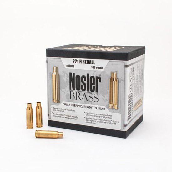 Nosler 10078 Brass Nosler 221 Remington Fireball