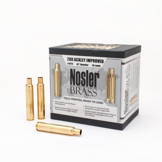 Nosler 10175 Brass Nosler 280 Ackley