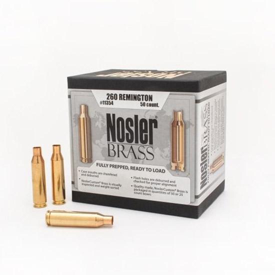 Nosler 11354 Brass Nosler 260 Remington