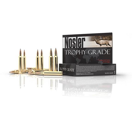Nosler 60101 Trophy Grade 308 Winchester|7.62 NATO 168 GR AccuBond Long Range 20 Bx| 10 Cs