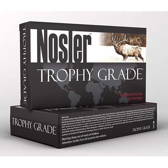 Nosler 60122 Trophy Grade 26 Nosler 142 GR AccuBond Long Range 20 Bx| 10 Cs