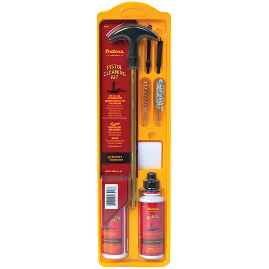 Outers 46410 Pistol Cleaning Kit Universal Pistol Cleaning Kit