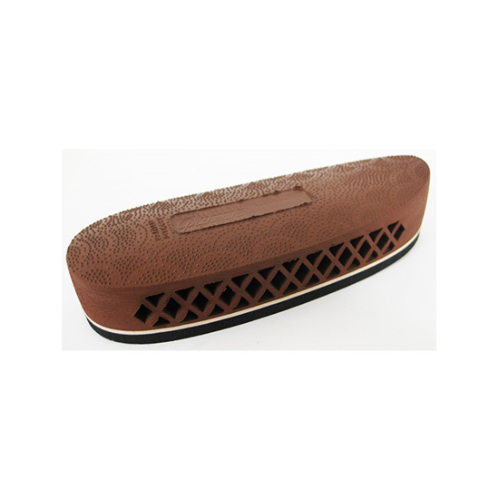 Pachmayr 00007 F325 Deluxe Field Recoil Pad Brown Rubber Medium
