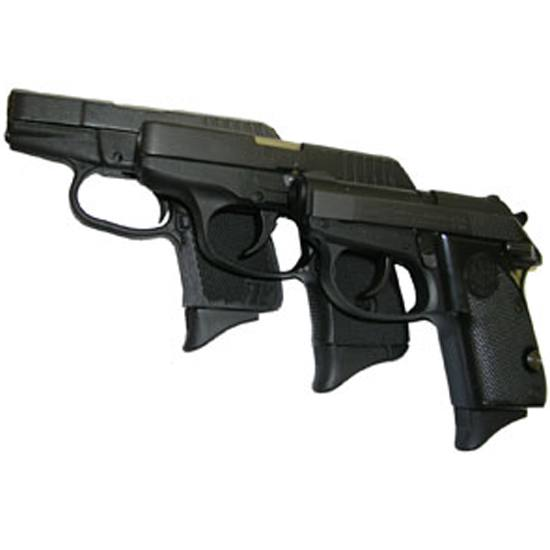 Pearce Grip PG380 Beretta 3032|Kel-Tec P3AT|Bersa 380 ACP Grip Extension Black