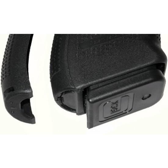 Pearce Grip PGG4SC Glock Grip Frame Insert Glock 26|27|33|39 Black Polymer