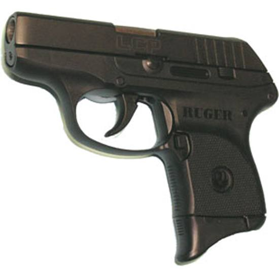 Pearce Grip PGLCP  Grip Extension Ruger Black High Impact Polymer