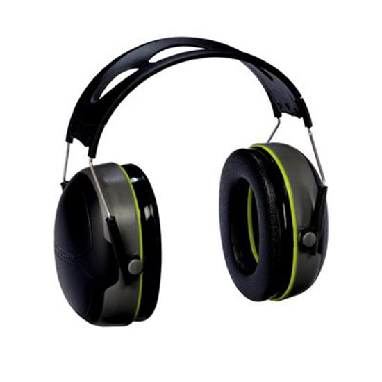 3M Peltor 97041 Sport Bulls Eye Earmuff 27 dB Gray|Black
