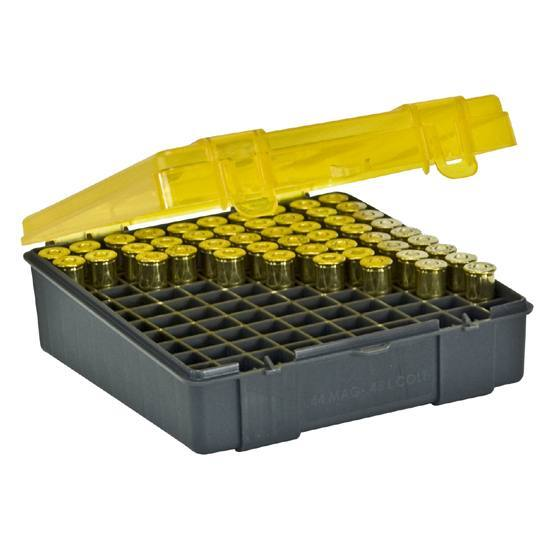 Plano 100-Count Handgun Ammo Case for .41 Magnum, .44 Magnum and .45 Long Colt Bullets 000 - Hunting Equipment And Accessories, Hunting Accessories at Acade...