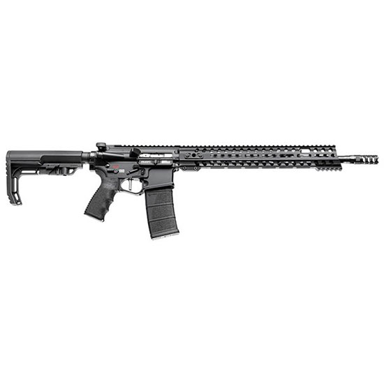Patriot Ordnance Factory 00856 Renegade Plus Semi-Automatic 223 Remington|5.56 NATO 16.5 30+1 Synthetic Black Stk Black Hard Coat Anodized in.