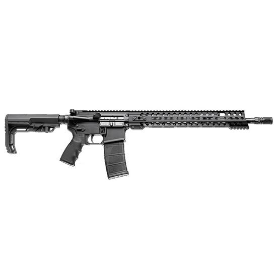 Patriot Ordnance Factory 00857 Renegade Semi-Automatic 223 Remington 5.56 NATO 16.5 30+1 Synthetic Black Stk Black Hard Coat Anodized in.
