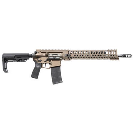 Patriot Ordnance Factory 01145 P415 Gen 4 Semi-Automatic 223 Remington|5.56 NATO 18.5 30+1 Magpul CTR Black Stk Burnt Bronze in.