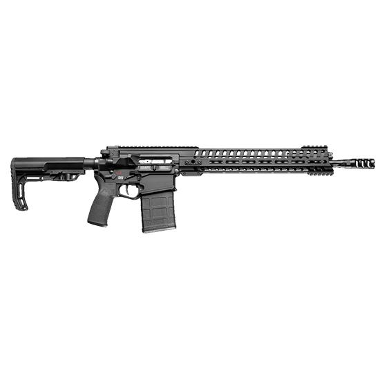 Patriot Ordnance Factory 01235 Revolution Gen 4 Semi-Automatic 308 Winchester 7.62 NATO 16.5 20+1  Stk Black in.