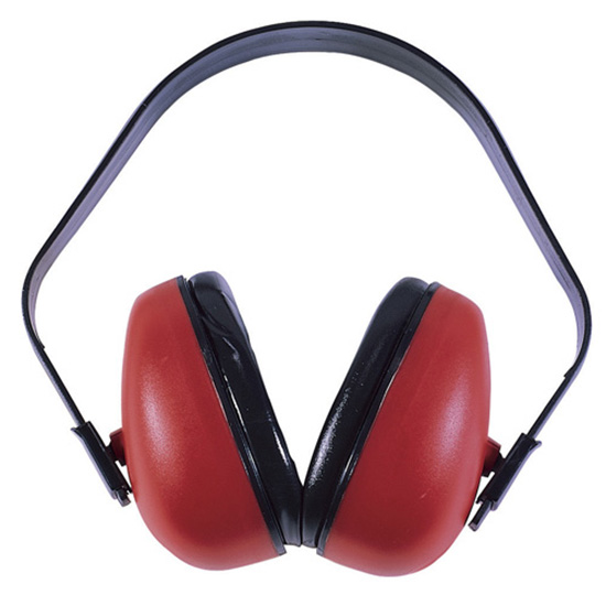 Radians DF0310HC Def-Guard Earmuffs NRR 23dB Red|Black