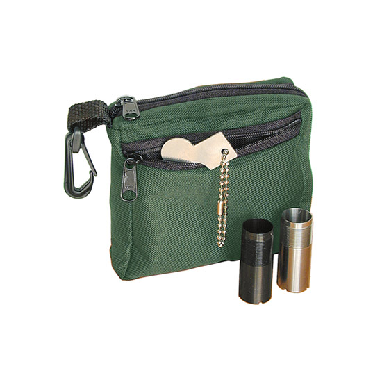 Remington 19172 Choke Tube Case Cordura Holds 6 Flush or Extended Tubes and Wrench