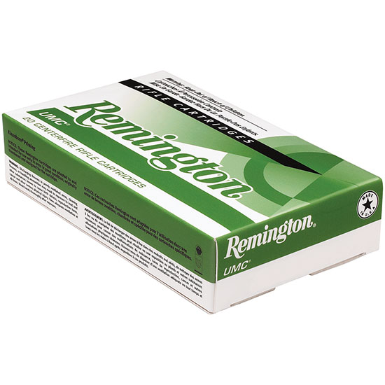 Remington Ammunition L22504 UMC 22-250 Remington 50 GR Jacketed Hollow Point 20 Bx| 10 Cs