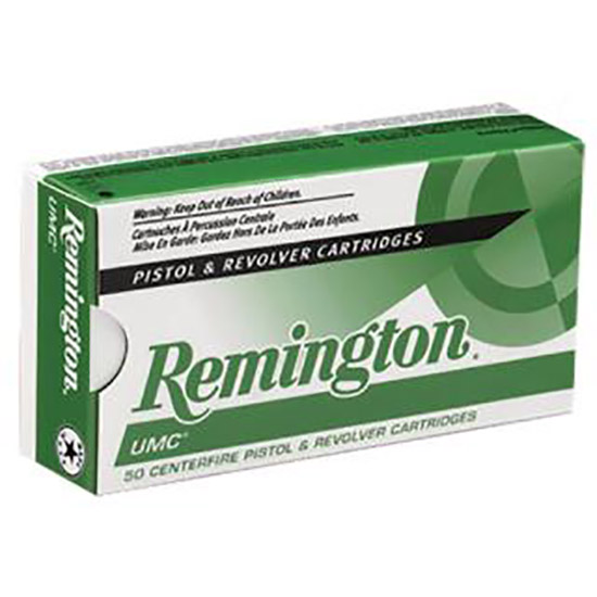 Remington Ammunition L38S11 UMC 38 Special Metal Case 130 GR 50Box|10Case