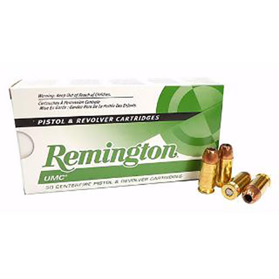 Remington Ammunition L45AP7 UMC 45 ACP JHP 230 GR 50Box|10Case
