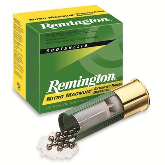 Remington Ammunition NM12S4 Nitro Mag Loads 12 Gauge 2.75 1-1/2 oz 4 Shot 25 Bx/ 10 in.