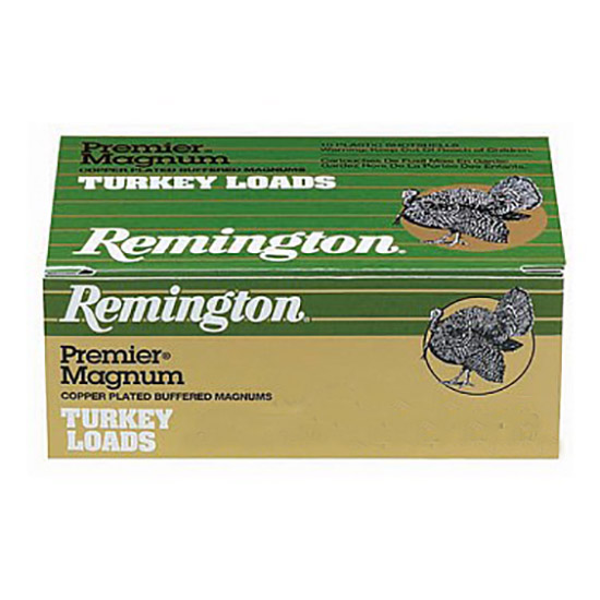 Rem P10HM4 Turkey 10ga 3.5 2-1|4 oz 4 Shot Copper-Plated Lead 10Box|10Case in.