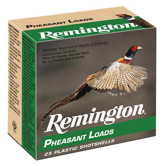Rem PL124 Pheasant Loads 12 ga 2.75 1-1|4 oz 4 Shot 25Box|10Case in.