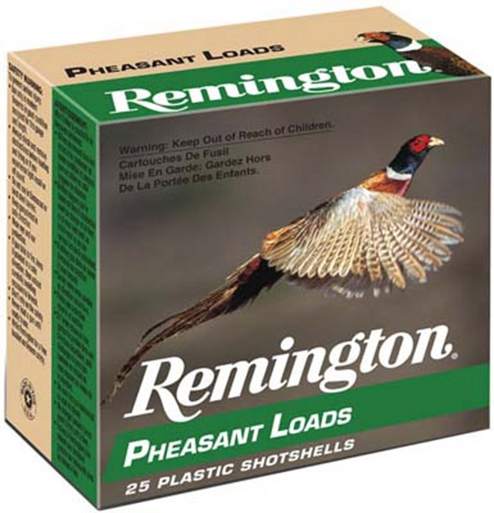 Rem PL126 Pheasant Loads 12 ga 2.75 1-1|4 oz 6 Shot 25Box|10Case in.