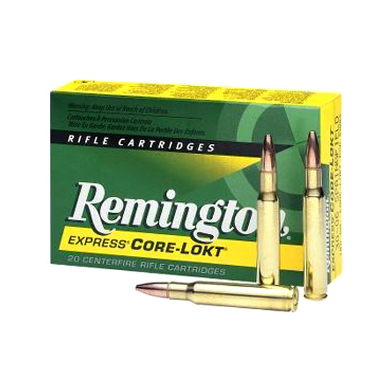 Rem Ammo R260R1 Standard 260 Rem Pointed Soft Point 140 GR 20Box|10Case