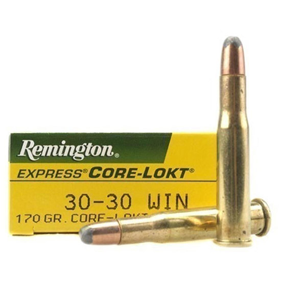 Remington Ammunition R30302 Core-Lokt 30-30 Winchester 170 GR Core-Lokt Soft Point 20 Bx| 10 Cs