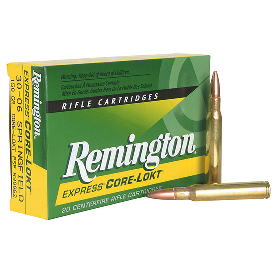 Remington Ammunition R308W2 Core-Lokt 308 Win|7.62 NATO 180 GR Core-Lokt Soft Point 20 Bx| 10 Cs