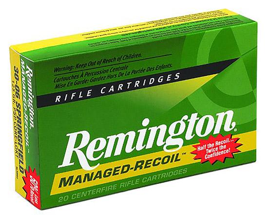 Rem Ammo RL30301 Managd Recoil 30-30 Win Core-Lokt PSP 125 GR 20Box|10Case