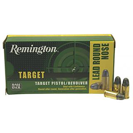 Remington Ammo RTG38S5 TAR 38 Special  Lead Round Nose 158GR 50Bx|10Cs